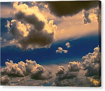 My Sunset Sky Canvas Print by Wendy J St Christopher