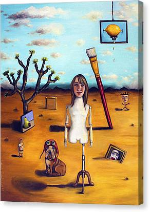 My Surreal Life Canvas Print by Leah Saulnier The Painting Maniac