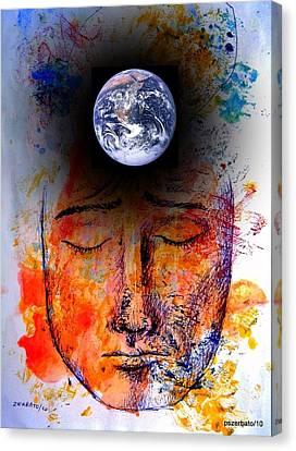 My World Canvas Print by Paulo Zerbato