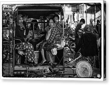 Myanmar Lost In Time 7 Canvas Print by David Longstreath