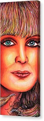 Myernasty Canvas Print by Joseph Lawrence Vasile