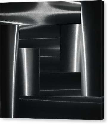Mysterious Forms. Canvas Print by Greetje Van Son