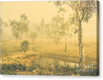 Mystical Lake Canvas Print by Jorgo Photography - Wall Art Gallery