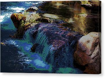 Mystical Springs Canvas Print by DigiArt Diaries by Vicky B Fuller