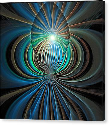 Namaste Canvas Print by Amanda Moore