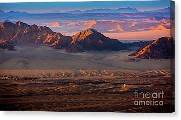 Namibia Balloon Canvas Print by Inge Johnsson