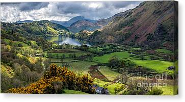 Nant Gwynant Valley Canvas Print by Adrian Evans