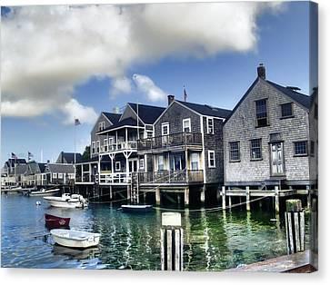 Nantucket Harbor In Summer Canvas Print by Tammy Wetzel