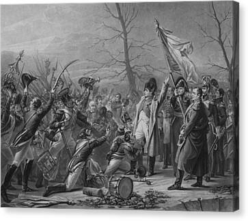 Napoleon Returns From Elba Canvas Print by War Is Hell Store