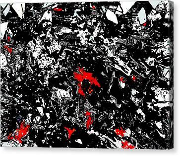 Narcissistic Injury Canvas Print by Ricardo Mester