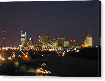 Nashville At Sixty Five Mph Canvas Print by Mark Currier