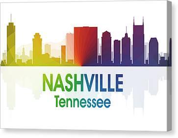 Nashville Tn Canvas Print by Angelina Vick