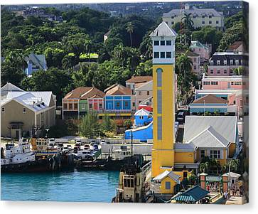 Nassau Bahamas Canvas Print by Coby Cooper