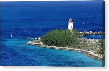 Nassau Lighthouse 1 Canvas Print by Coby Cooper