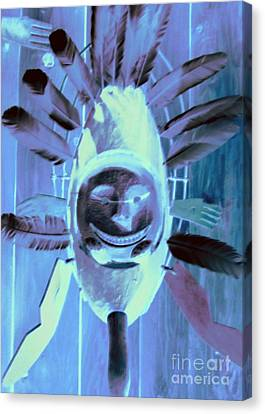 National Museum Of The American Indian 9 Canvas Print by Randall Weidner