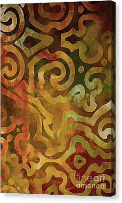 Native Elements Earth Tones Canvas Print by Mindy Sommers