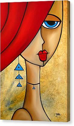 Native Canvas Print by Tom Fedro - Fidostudio