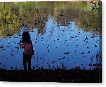 Nature Girl Canvas Print by Lyle Hatch
