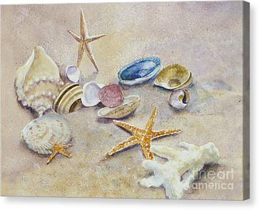 Nature's Bountry Canvas Print by Karol Wyckoff