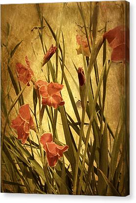 Nature's Chaos In Spring Canvas Print by Jessica Jenney