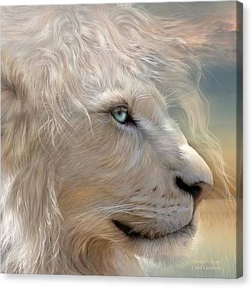 Nature's King Portrait Canvas Print by Carol Cavalaris