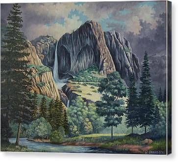 Natures Wonder Canvas Print by Wanda Dansereau