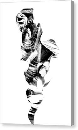 Navajo Wanderer Inverted Canvas Print by Az Jackson