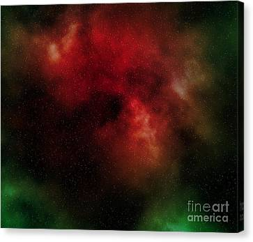 Nebula Canvas Print by Michal Boubin