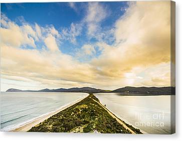 Neck Of Bruny Island Canvas Print by Jorgo Photography - Wall Art Gallery