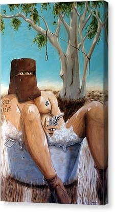 Ned Kelly Canvas Print by Matthew Lake