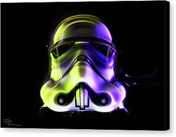 Neon Canvas Print by Isaac Renteria