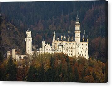 Neuschwanstein Castle Canvas Print by Andre Goncalves