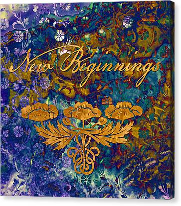 New Beginnings Canvas Print by Susan Ragsdale