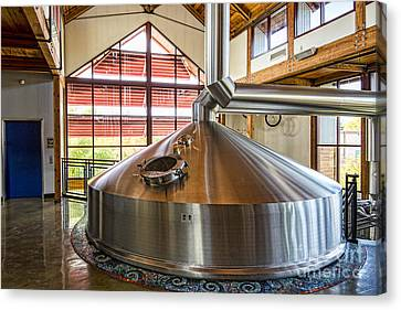 New Belgium Kettle Canvas Print by Keith Ducker