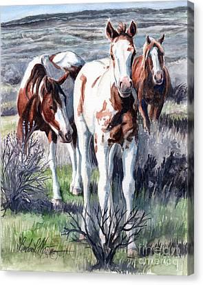 New Blood Canvas Print by Linda L Martin