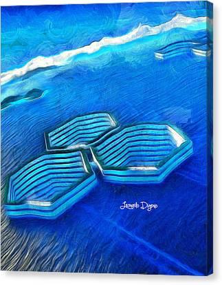 New Islands - Da Canvas Print by Leonardo Digenio
