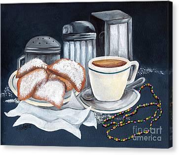 New Orleans Favorites Canvas Print by Elaine Hodges