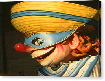 New Orleans Mardi Gras Mask - Photo Art Canvas Print by Art America Online Gallery