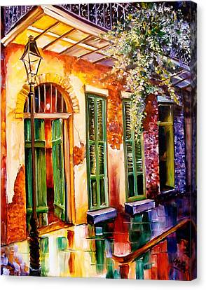 New Orleans Mystery Canvas Print by Diane Millsap