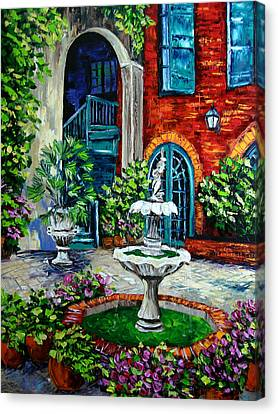 New Orleans Painting Brulatour Got A Penny Canvas Print by Beata Sasik