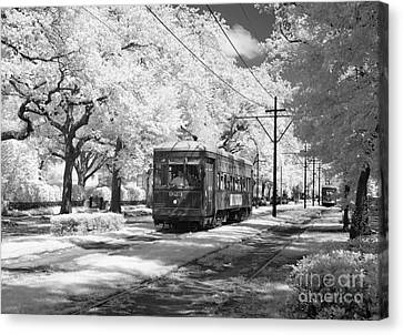 New Orleans: Streetcar Canvas Print by Granger