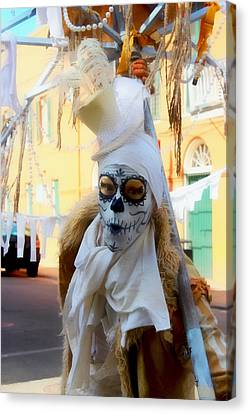 New Orleans Voodoo Man Canvas Print by Barbara Chichester
