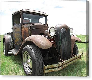 New Wheels Canvas Print by Eric Dee