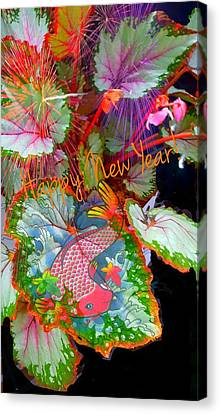 New Year Resolution  Canvas Print by ARTography by Pamela Smale Williams