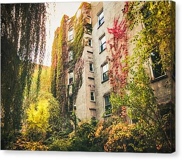 New York City Autumn East Village Canvas Print by Vivienne Gucwa