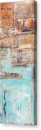 New York Canvas Print by Jolina Anthony