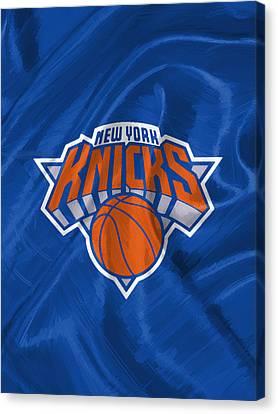 New York Knicks Canvas Print by Afterdarkness