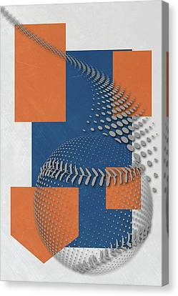 New York Mets Art Canvas Print by Joe Hamilton