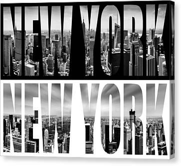 New York New York Canvas Print by Az Jackson