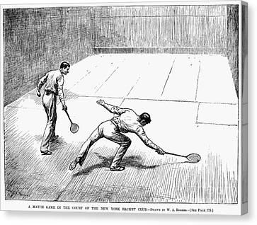 New York: Racket Club Canvas Print by Granger